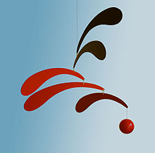 Mobile (sculpture) in the style of Alexander Calder.jpg