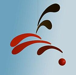 モビール - Wikipedia Alexander Calder Mobile Names