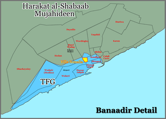 Battle of Mogadishu (2010–11) - Mogadishu 26 November 2010