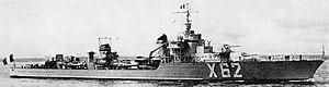 Mogador-class destroyer - Volta
