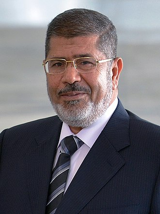 President of Egypt - Image: Mohamed Morsi 05 2013