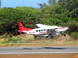 Commuter airline based out of Kailua-Kona, Hawaii