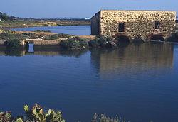 Antiguo molino de mareas en Isla Cristina (Huelva).