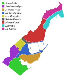 Géographie de Monaco — Wikipédia