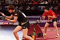 Mondial Ping - Women's Singles - Semifinal - Ding Ning-Li Xiaoxia - 01.jpg