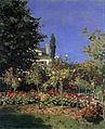 Monet - Blühender Garten in Sainte Adresse.jpg