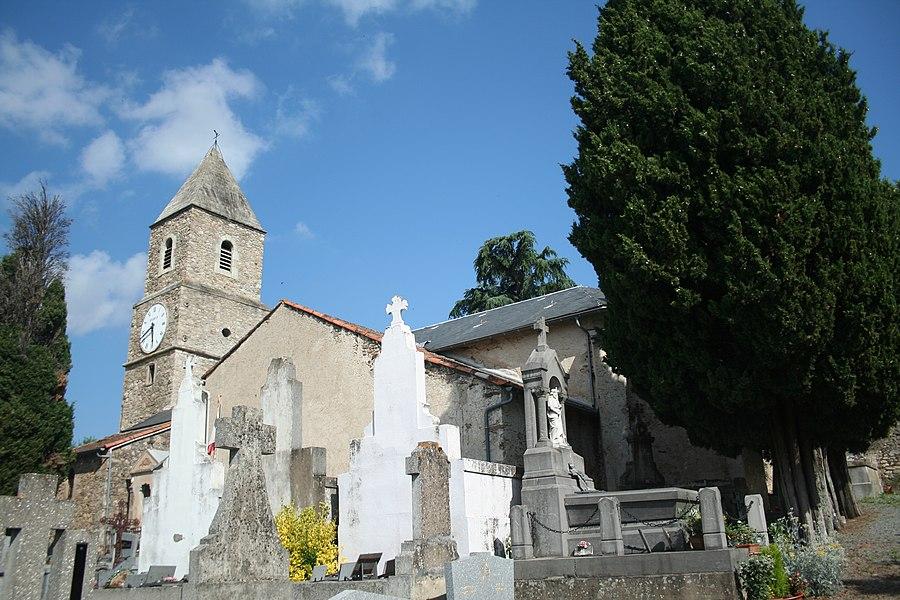 Mons (Hérault) - église Saint-Jean.