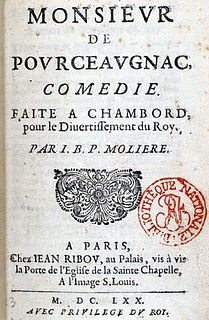 <i>Monsieur de Pourceaugnac</i>