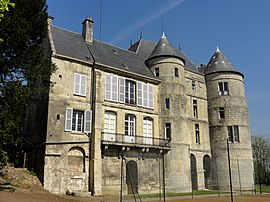 The chateau in Montataire