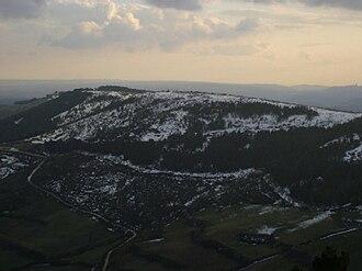 Monte Lauro - Monte Lauro – snow-capped