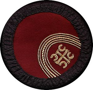 Serbs of Montenegro - A Montenegrin cap with the Serbian cross.