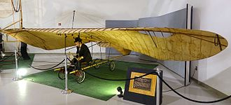 John Joseph Montgomery - Replica of The Evergreen at the Hiller Aviation Museum.