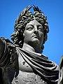 Montpellier (34) Promenade du Peyrou Statue de Louis XIV - 04.JPG