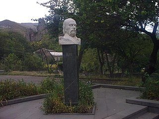 Bust of Sero Khanzadyan