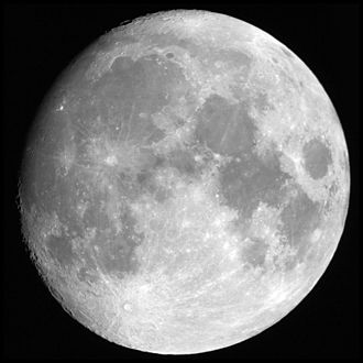 Extraterrestrial real estate - The Moon as seen by an observer from Earth. Some people claim that private ownership of the Moon might be possible.