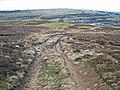 Moorland track above Shittlehope Edge - geograph.org.uk - 348891.jpg