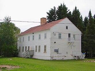 Moose Factory - Hudson's Bay Company staff house