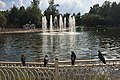 Moscow, Lianozovo Park - ponds and fountains (31525185711).jpg