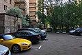 Moscow, Stepana Supruna Street inside the block (30971142420).jpg
