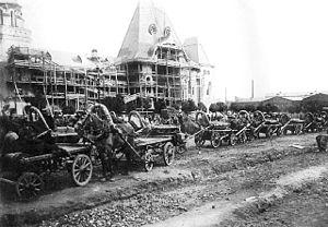 Moscow Yaroslavskaya railway station - Image: Moscow, Yaroslavsky Terminal U.C., 1903 1904