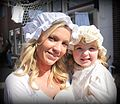 Mother and her little girl during 1 april events in Brielle.jpg