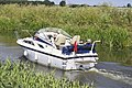 Motor Cruiser on the River Nene (old course) - geograph.org.uk - 664983.jpg