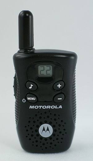 Family Radio Service - Motorola FV150 FRS and GMRS handheld radio
