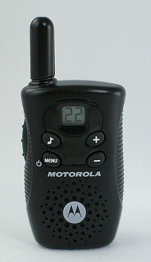 English: A Motorola FV150 FRS/GMRS radio..