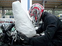 airbag on a motorcycle