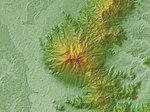 Mount Tsukuba Relief Map, SRTM.jpg