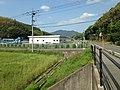 Mount Yukawayama from east end of Kawabatabashi Bridge.JPG