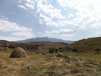 Abul-Samsari Range - View from Samsari Monastery.