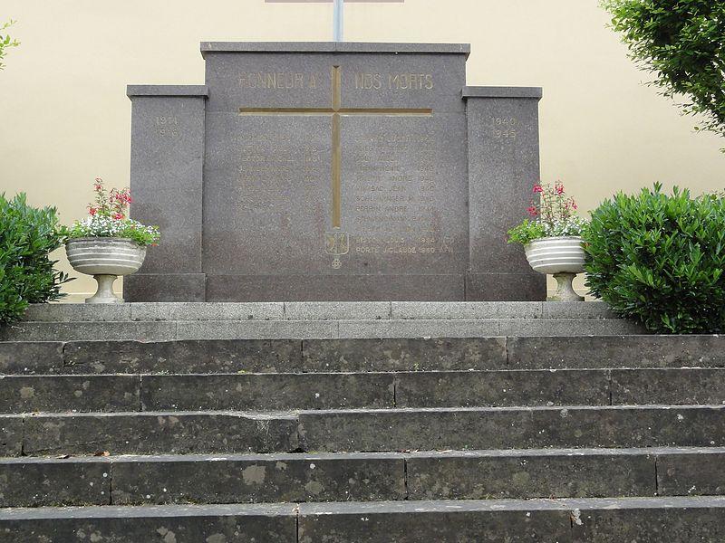 Moussey (Moselle) monument aux morts