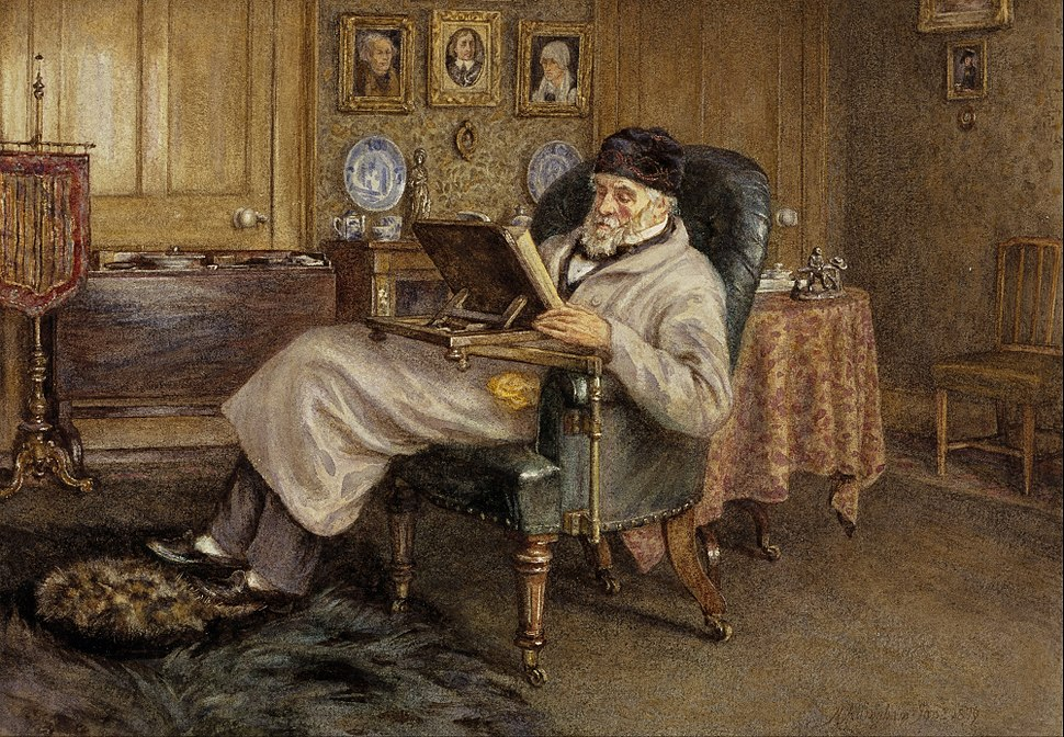 Mrs Helen Allingham - Thomas Carlyle, 1795 - 1881. Historian and essayist - Google Art Project