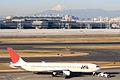 Mt. Fuji and JAL B767-300(JA8975) (4300241682).jpg