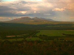 Mount Barker, Western Australia - View east from Mount Barker Hill