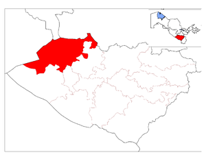 Muborak District location map.png