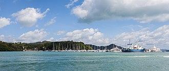 Phuket Province - Ao Por port in Phuket.
