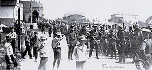 Munster Training Area - Image: Munsterlager – Erster Weltkrieg – Gefangene – Franzosen – 1