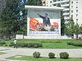 Mural of Kim Il-sung in Pyongyang.JPG