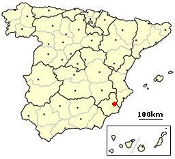 Murcia, Spain location