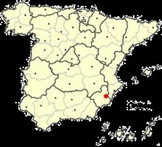 University of Murcia - Murcia in Spain
