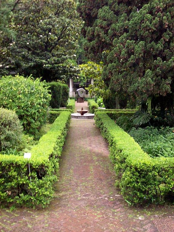 Archivo museo de arte espa ol enrique larreta jard n for Jardin andaluz
