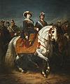 Museo del Romanticismo - CE0122 - Isabel II dirigiendo una revista militar.jpg
