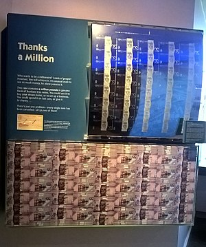 Museum on the Mound - Image: Museum on the Mound Million Pounds