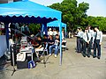Music DJ Camp beside Kai-shou Review Stand 20121006.jpg
