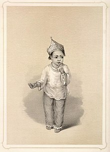 A Muslim girl in India wearing pajamas and kurti (lithograph from Emily  Eden s Portraits of the Princes and People of India f57a4cf63