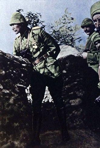Military career of Mustafa Kemal Atatürk - In Gallipoli with his soldiers, 1915