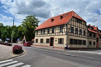Myślibórz - Timber-framed monastery