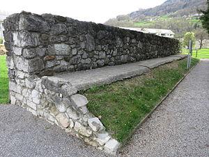 Landwehr (border) - Letzi in Näfels, Switzerland